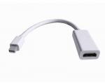 Mini DisplayPort ThunderBolt > tavamõõdus HDMI üleminek / adapter, kabel 10 cm, uus, garantii 1 aasta