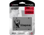SSD SATA 240GB Kingston UV500, lugemine 520 MB/s, kirjutamine 500 MB/s, uus, garantii 3 aastat