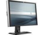 """24"""" Wide LCD HP ZR24w, IPS-paneel, DisplayPort, VGA- & DVI-sisendi, resolutsioon 1920x1200, 5 ms, reguleeritava kõrgusega jalg, PIVOT, USB-HUB, garantii 1 aasta [tühjendusmüük!]"""