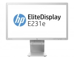 "23"" Wide LED HP EliteDisplay E231e, valget värvi, IPS-paneeliga, VGA & DVI-sisend, Display-port, PIVOT, resolutsioon 1920x1080, 5 ms, reguleeritava kõrgusega jalg, USB-hub, kasutatud, garantii 1 aasta / Soodushind!"
