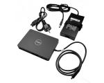Dock Dell Latitude WD15 (USB Type-C) + 130W laadija, väljundid: VGA, mDP, HDMI, kasutatud, garantii 1 aasta