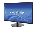 """24"""" Wide LED ViewSonic VX2409, DVI-, VGA-sisend, 5 ms, Full HD resolutsioon 1920x1080, klaasist jalg ja õhuke ekraani raam, kasutatud, garantii 1 aasta"""