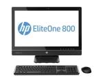 "HP EliteOne 800 G1 AiO - Core i5-4590S/8GB DDR3/240GB uus SSD (gar 3a)/24"" Wide FullHD LED (1920x1080)/veebikaamera/Wifi/kõlarid; Windows 10, kasutatud, garantii 1 aasta [ekraanil paar kriimu]"