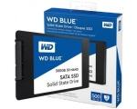 SSD SATA 500GB Western Digital Blue 3D NAND, lugemine 560 MB/s, kirjutamine 530 MB/s, uus, garantii 5 aastat