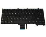 Dell Latitude E7440 valgusega klaviatuur, US-asetus, uus, Garantii 6 kuud