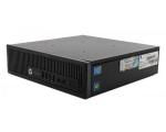 HP EliteDesk 800 G1 USDT i3-4130/8GB DDR3/128GB SSD/DVD-RW/2 x DisplayPort/VGA/Windows 10 Pro, kasutatud, garantii 1 aasta
