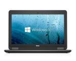 """Dell Latitude E7250 Ultrabook i5-5300U/8GB RAM/256GB SSD/12,5"""" HD LED (1366X768)/Intel HD5500 graafika/veebikaamera/ ID-lugeja/valgustusega eesti klaviatuur/aku tööaeg ~4h/Windows 10 Pro, kasutatud, garantii 1 aasta"""