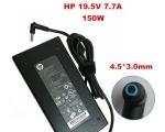 Sülearvuti laadija HP 19,5V, 7,7A, 150W, pistik 4,5x3,0 mm Smart (L blue), uus originaallaadija, garantii 1 aasta