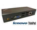 Lenovo 40A9 USB-C Dock (FRU 03X7194), 1 X USB-C, 3 x USB 3.0, 2 x USB 2.0, 2 x DisplayPort- ja 1 x VGA-väljundid, LAN, kõrvaklapipistik, komplektis USB-C kaabel ja 90W originaallaadija, kasutatud, garantii 1 aasta