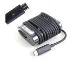 Sülearvuti laadija Dell Type C / USB-C, 45W, uus originaallaadija, garantii 1 aasta
