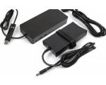 Dell D6000 USB-C Dock, 1 X USB-C, 4 x USB 3.0, 2 x DisplayPort- ja 1 x HDMI-väljundid, LAN, kõrvaklapipistik, komplektis USB-C kaabel ja 130W originaallaadija, kasutatud, garantii 1 aasta