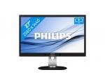 """27"""" Wide LED Philips Brilliance 272S, 2 ms, resolutsioon  2560 x 1440,Displayport,HDMI,  DVI- ja VGA-sisend, reguleeritava kõrgusega jalg, kõlarid, garantii 1 aasta"""