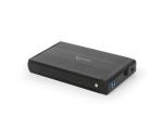 """Välise kõvaketta korpus SATA 3,5"""" Gembird USB 3.0, uus, garantii 2 aastat"""