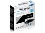 DVD-RW väline USB 2.0/3.0 Hitachi-LG Data Storage GP57, valge, uus, garantii 2 aastat
