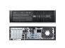 HP Compaq 8200 Pro SFF i5-2400@3,1GHz/4GB RAM/120GB uus SSD (garantii 3 aastat)/DVD-RW/Windows 10 Professional, kasutatud, garantii 1 aasta [Soodushind!]