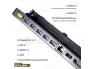 Lenovo ThinkPad Pro Dock 40A1 (FRU 00HM918), 3 X USB 3.0, 3 X USB 2.0, DisplayPort-, DVI- ja VGA-väljundid, ühildub mudelitega T440 T450 T450s T460 T460s T470 T470s X240 X250 X260 x270 T540 L440 L540, kasutatud, garantii 1 aasta