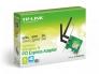 WIFI võrgukaart PCI-E Tp-Link, 300Mbps, 802.11 n, kaasas madala korpuse (SFF, desktop) jaoks kinnituspaneel, uus, 2 välise antenniga, garantii 3 aastat