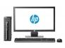 HP EliteDesk 800 G1 USDT i5-4570S@2,9Ghz/8GB RAM/120GB SSD/VGA & DisplayPort 2 tk/DVD-RW/Windows 10 Pro, kasutatud, garantii 1 aasta